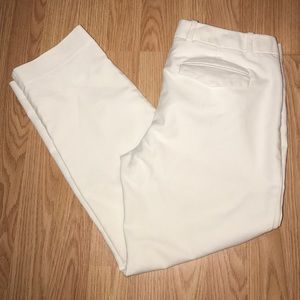 Gap Slim Cropped White Pants